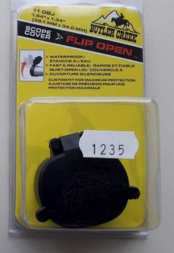 Butler Creek OVAL Flip Open Rifle Scope Objective Lens Cover Size 11 39.1mm - 1.54""